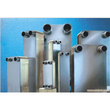 Échangeur de chaleur à plaques brasées AISI304/316 de haute qualité