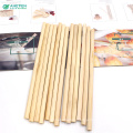 eco friendly drinking bamboo straw with custom size and logo