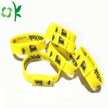 Elegant Yellow Bracelet Cool Silicone Power Balance Bangles