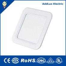 Panel fino cuadrado de luz LED 18W SMD con CE UL