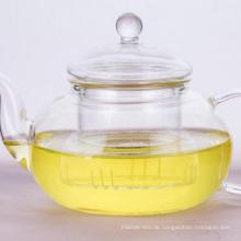 Borosilikatglas Teekanne mit Infuser