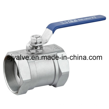 1-PC Stainless Steel Ball Valve with Threaded End