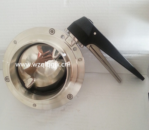 Welded Sanitary Butterfly Valve