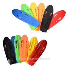 new design high quality pp material plastic skateboard cruisers decks