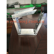 Accessoires de conditionnement d'air Amortisseur de conduit d'air carré Automatiquement système de formage de rouleaux de contrôle de volume d'air Flux d'air Singapour