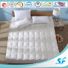 2-4cm Goose Feather Fill and Cotton Mattress Topper