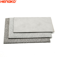 Custom Microns High Permeable Stainless Steel Sintered Fuidizing Sheet For Petrochemical Chemical Industry