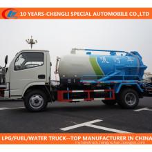 Diesel 90HP 4X2 3cbm to 5cbm Vacuum Sewage Suction Truck Sewage Truck
