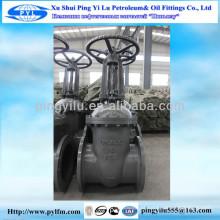 Z41H-16C Gost válvula de portão / Baixa pressão / Manual / Pound grade / flange dupla / aço / aço carbono / aço inoxidável