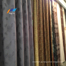Textiles para el hogar 100% poliéster Tela de sofá de cortina opaca