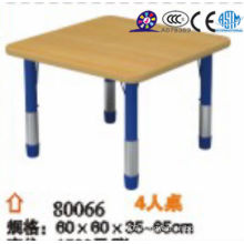 2016 wooden rectangle table for kids