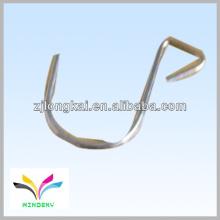 robusto cromo en forma de u gancho de pantalla de gancho ganchos