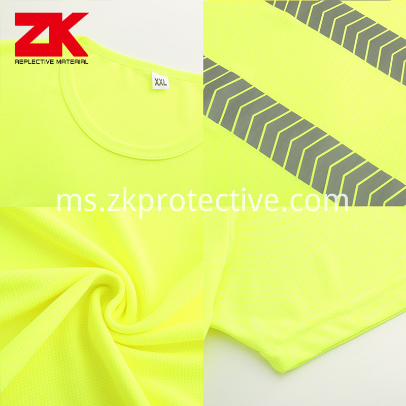 Safety Running T Shirt
