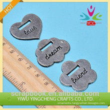 beautiful flower wholesale charms for decoration
