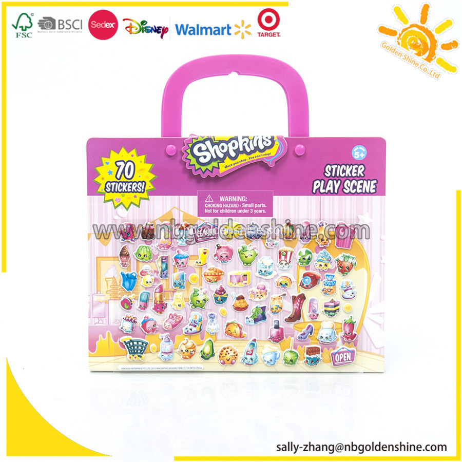 Shopkins Take-Along Sticker Riproduci scena