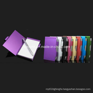 Aluminum Note Pad Holder for Promotion Gifts