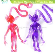 New Novelty TPR Sticky Alien Toys Kids Party Favors