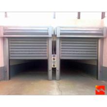 Panel de aluminio de turbina Puerta de seguridad de rodillo rápido