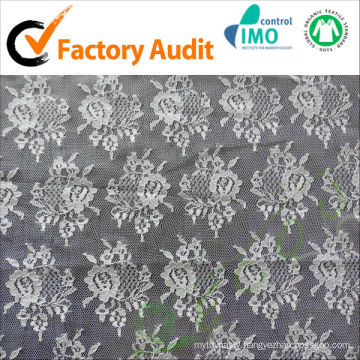 supply nylon lace fabric for wedding dress