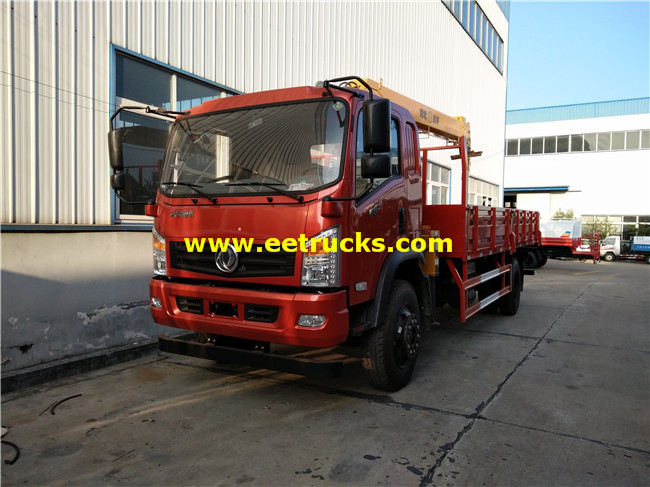 210HP 9ton Crane Trucks