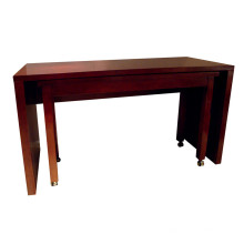 Rectangle Hotel Dining Table Wooden Hotel Furniture
