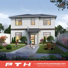 Light Steel Villa House as Prefabricated Luxury Village Building