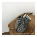 Promotional Ins Fashion Lady Woolen Latest Tote Bags Shoulder Bag for Girls