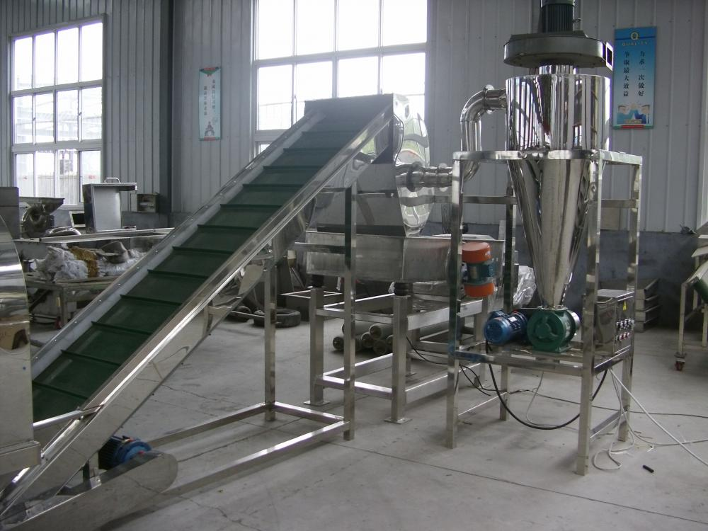 The stainless steel  sorting machine