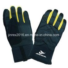 Caliente invierno a prueba de viento de esquí de deportes al aire libre dedos completos guante-Jg10z028