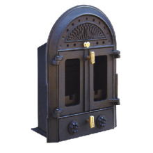 Inserted Wood Burning Cast Iron Stove (FIPD001) Fireplace