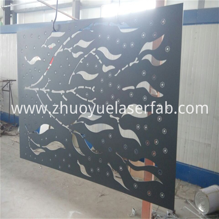powder coating steel screen