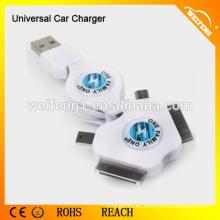 Universal Car Charger Adaptadores para iPhone / Samsung / HTC / Blackberry