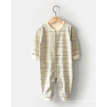 Moda orgânica bebê Romper Made in China