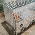 Caixa de ferramentas de caminhão de metal de alumínio com gavetas Caixa de ferramentas de caminhão de metal de alumínio com gavetas