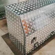 Алюминиевый ящик для инструментов для прицепов UTE и Camper Алюминиевый ящик для инструментов для грузовых автомобилей с ящиками