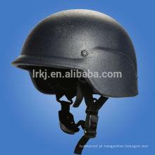 Capacete balístico militar leve NIJ IIIA PASGT (Kevlar / PE)