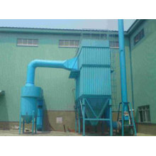 Biomass boiler dust collector