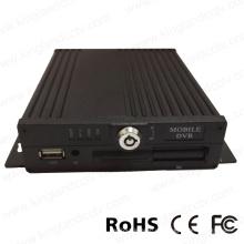 H. 264 en tiempo real de 4 canales SD Card Mobile DVR