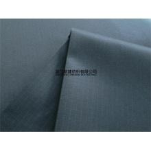 Tissu indéchirable en coton polyester teinté bleu marine