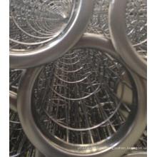 Edelstahl-Filterbeutel-Käfig befolgen Filterbeutel