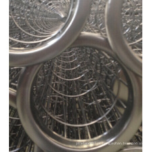 A gaiola de aço inoxidável do saco de filtro cumpre com o saco de filtro