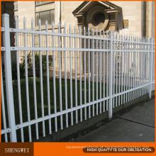 Segurança de aço industrial que cerca a cerca de aço galvanizada do jardim