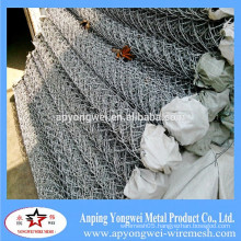 YW-2015 Hot Dipped Galvanized Temporary Construction Chain Link Fence