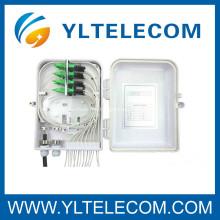 Montaje fibra óptica ODF Asamblea con cuerdas de remiendo de fibra y adaptador de la fibra de la pared