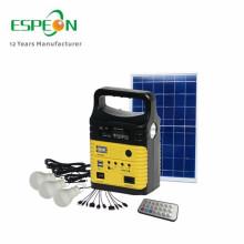 10W Solarsystem Solargenerator System für Telefon kostenlos