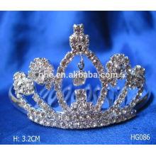 Fábrica profissional de moldes diretamente coroas e véus de casamento