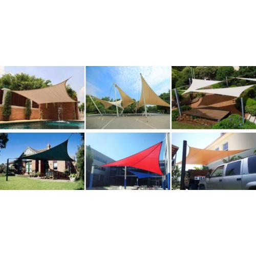 HDPE sun shade sail for outdoor