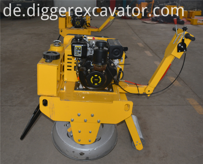 500kg Manual Vibration Road Roller