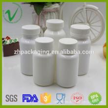 HDPE embalagem médica suplemento alimentar usa garrafa de plástico em Shenzhen