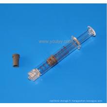 Serrure préfabriquée de 2,25 ml Luer Lock
